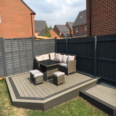 Mocha and Chocolate New range of decking